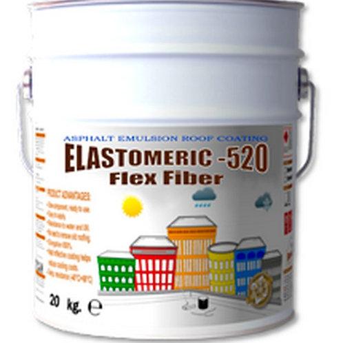 Эластомерик-520 Флекс Файбер  гидроизоляция