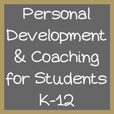 Personal Development & Coaching for Stud