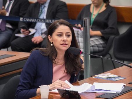 Liziane demonstra preocupação com feminicídios em audiência com a ministra Damares