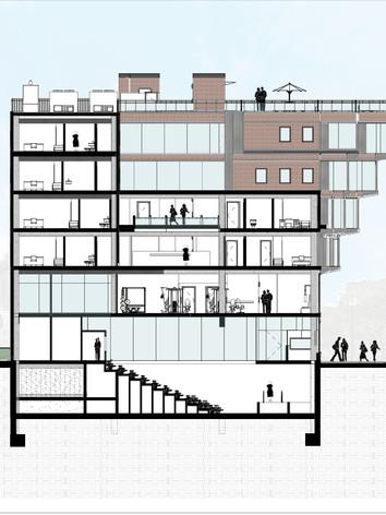 Rendering - Newbury Street