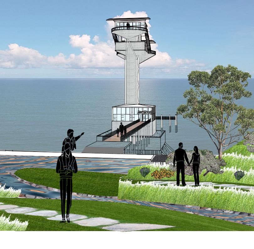 Rendering - Angel Island