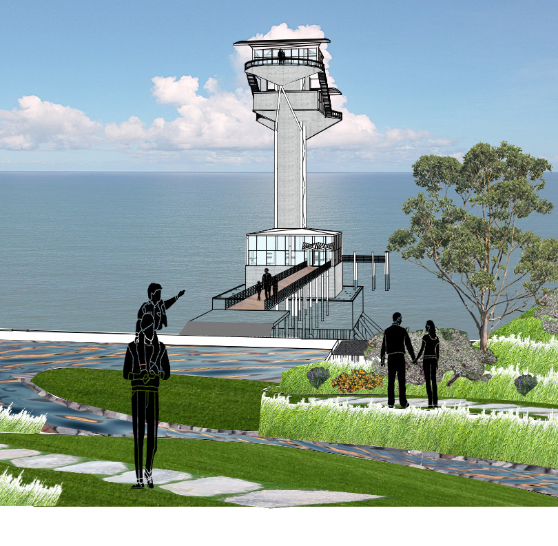Rendering - Angel Island