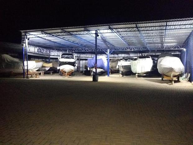 Estacionamento das embarcações