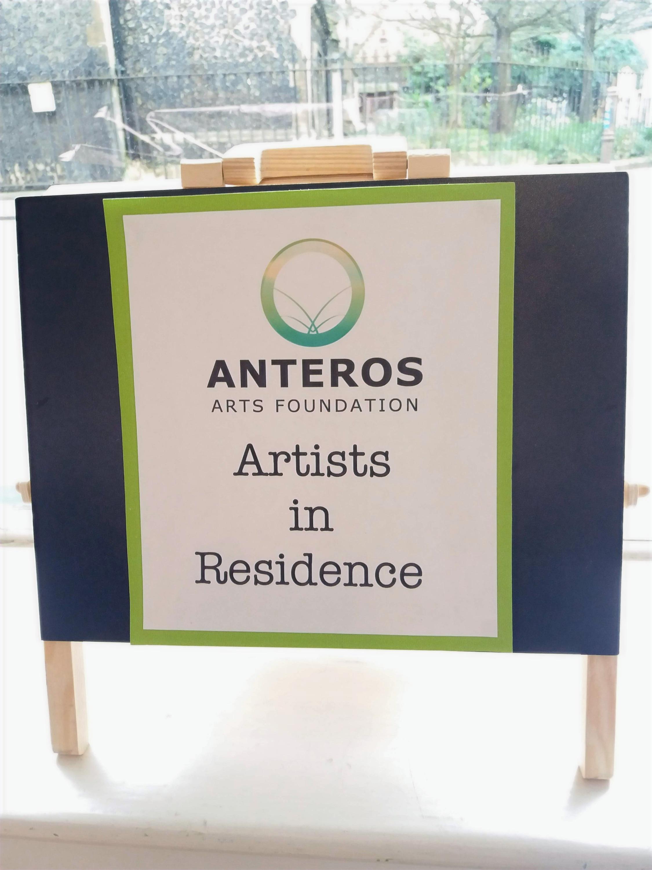 Artist in residence.