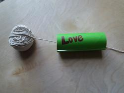 Making a zip wire.