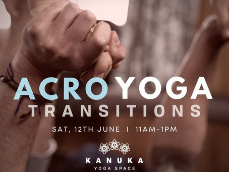 Acro Yoga Transitions Workshop