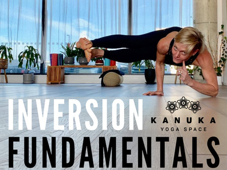 Inversion Fundamentals Workshop with Kylie Rook