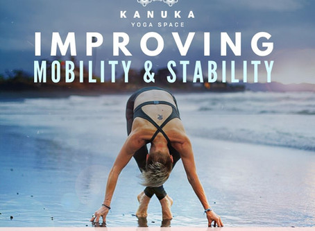 Improving Mobility & Stability Workshop, with Kylie Rook