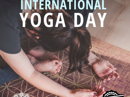 International Yoga Day, with Bhangra Fit and Kanuka Yoga Space