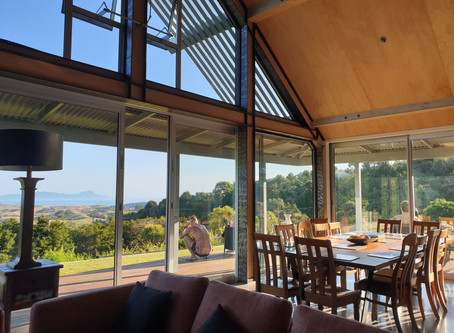 Paradise View, Waipu - we attended a yoga retreat and it was amazing!