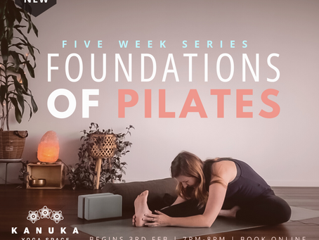 Foundations of Pilates - Five-Week Series