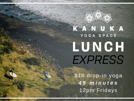 Friday Lunch Express Yoga - $10 Drop-In!