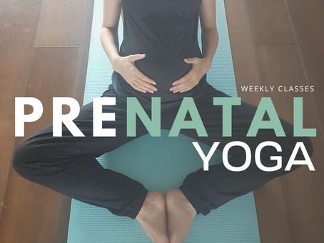 About Prenatal Yoga Classes