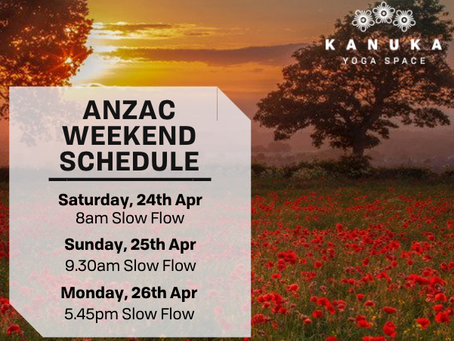 Reduced Schedule over Easter and ANZAC Weekend