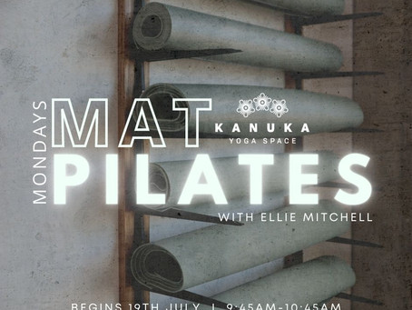 Mat Pilates at Kanuka Yoga Space