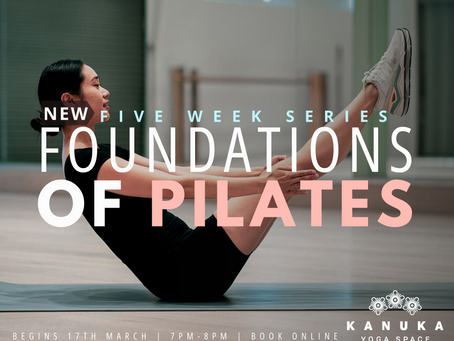 Foundations of Pilates I Five-Week Series