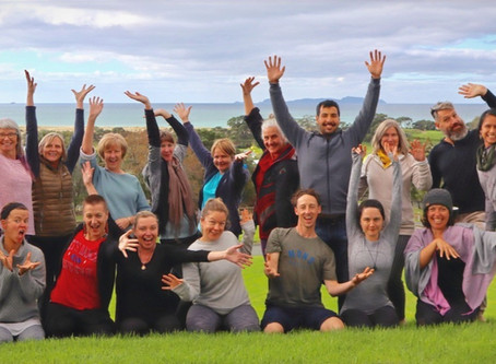 Expand Your Light - Waipu Yoga Retreat Memories, June 2020