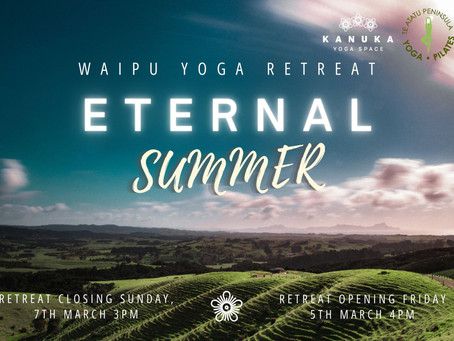 Eternal Summer Yoga Retreat I Paradise View NZ I March 2021