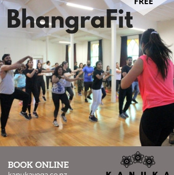 Bhangra Fit! Try Something A Lil' Different at Kanuka Yoga Space