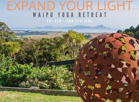Expand Your Light - Waipu Yoga Retreat