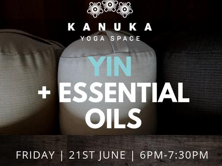 Yin + Essential Oils