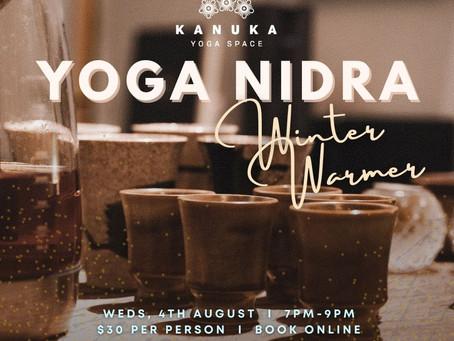 Yoga Nidra Winter Warmer, with Sam McKenzie