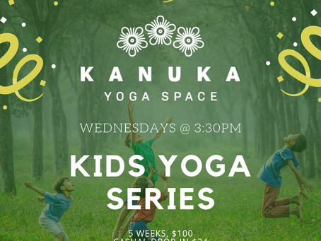 Kids Yoga starting February 27th