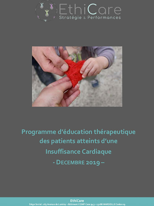 Programme ETP Adulte Insuffisance cardiaque - 104 pages