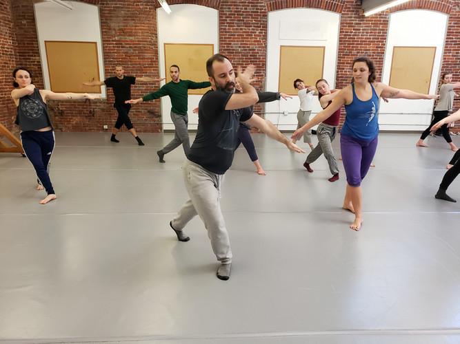 Herve Koubi Masterclass at FLOOR Center for Dance