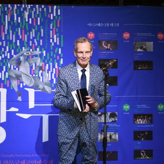 Co-Founder Paul King in Korea