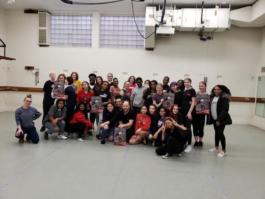 Shay Kuebler masterclass at Jefferson High School