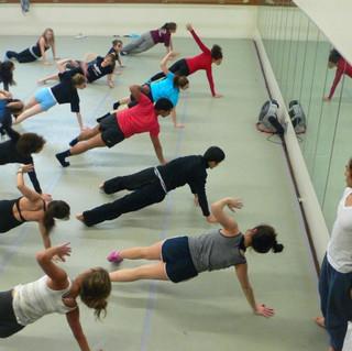 Masterclass at Jefferson Dancers