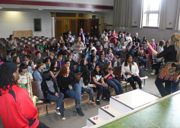 Portland Public School Alvin Ailey