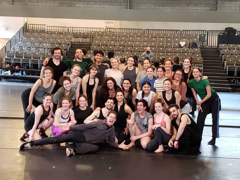Parsons Dance masterclass at BodyVox