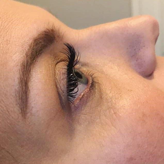 Love my clients #beautyblog #lashextensi