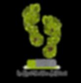 Logo BioExerceo empreinte de pas nature feuille