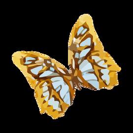 Acquerello Farfalla 3
