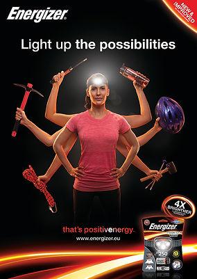 Energizer Lighting 2014 Key Visual Woman