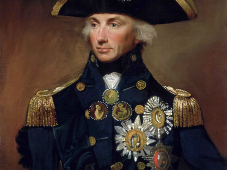 My connection to Lord Nelson -Norfolk's favourite Son.