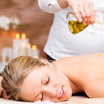 Book a Raindop massage treatment at Somerleyton Meadows