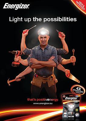 Energizer Lighting 2014 Key Visual Man S