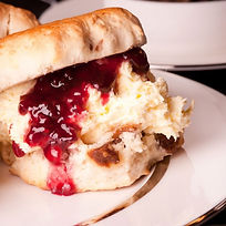 Enjoy a delecious cream tea for two at Somerleyton Meadows