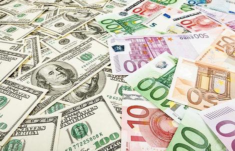 Divisas, Dolar, Euro