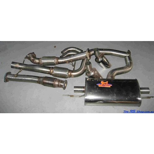 Mongoose Focus RS Mk2 and Focus XR5 Turbo Back Stainless Steel Exhaust System