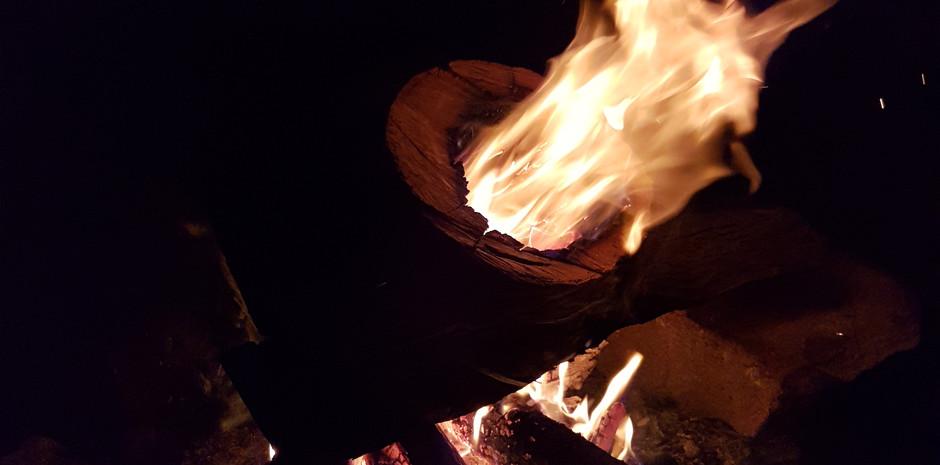 Wombeyan Night Drive Fire