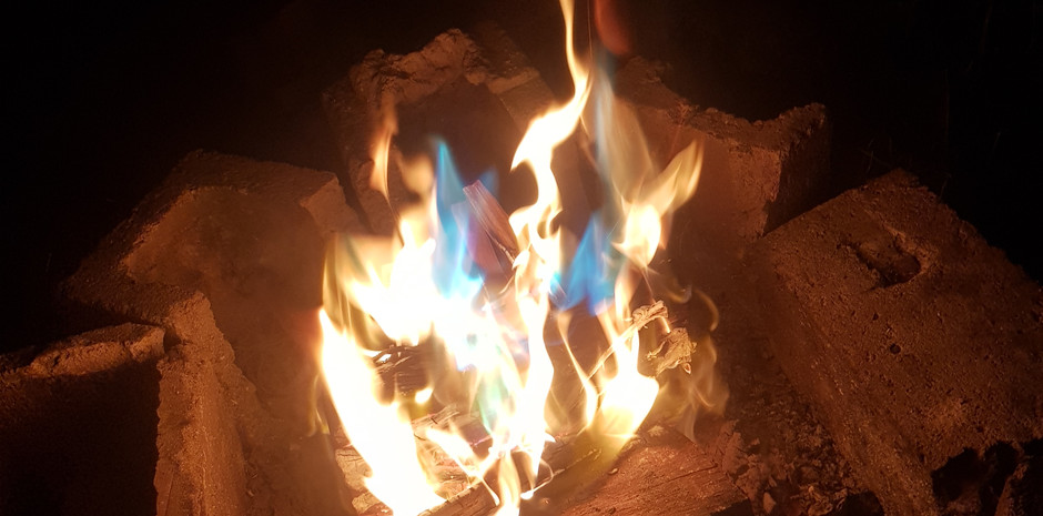 Night Life Drive campfire