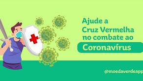 Nova atividade em parceria com a Cruz Vermelha estimula doações para o enfrentamento ao Coronavírus