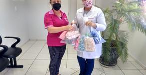 Cruz Vermelha doa 4000 máscaras para o combate ao Coronavírus em Chapecó