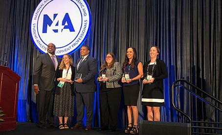 Mt. San Jacinto's Dr. Jenn Burleson receives N4A Region V Professional Excellence Award
