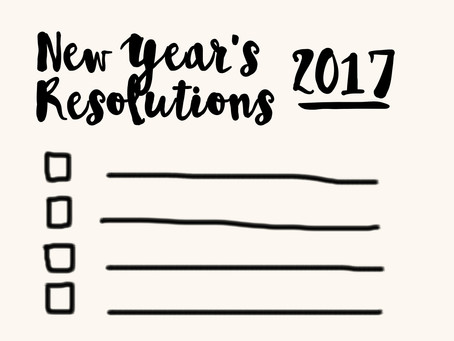 New Year's Resolutions for Music Practice 2017